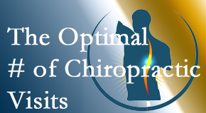 It's up to you and your pain as to how often you see the Plainville chiropractor.