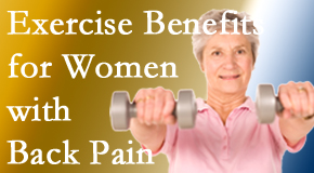 Layden Chiropractic shares new research about how beneficial exercise is, especially for older women with back pain.