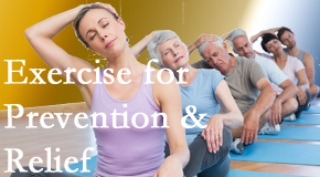 Layden Chiropractic suggests exercise as a key part of the back pain and neck pain treatment plan for relief and prevention.