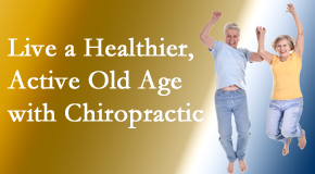 Layden Chiropractic invites older patients to incorporate chiropractic into their healthcare plan for pain relief and life's fun.