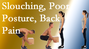 Layden Chiropractic shares slouching prevention advice to improve poor posture and ease related back pain and neck pain.