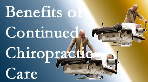 Layden Chiropractic offers continued chiropractic care (aka maintenance care) as it is research-documented as effective.