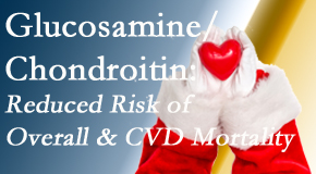 Layden Chiropractic shares new research supporting the habitual use of chondroitin and glucosamine which is shown to reduce overall and cardiovascular disease mortality.