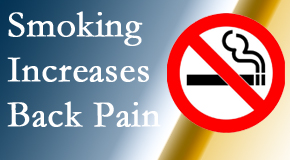 Layden Chiropractic explains that smoking heightens the pain experience especially spine pain and headache.