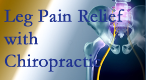 Layden Chiropractic provides relief for sciatic leg pain at its spinal source.