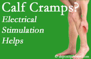 Plainville calf cramps associated with back conditions like spinal stenosis and disc herniation find relief with chiropractic care's electrical stimulation.