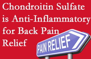 Plainville chiropractic treatment plan at Layden Chiropractic may well include chondroitin sulfate!