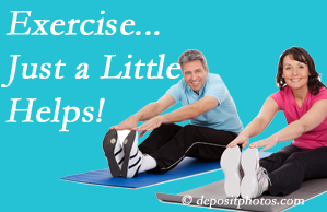 Layden Chiropractic encourages exercise for improved physical health as well as reduced cervical and lumbar pain.