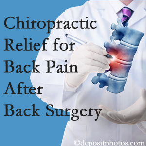 Layden Chiropractic offers back pain relief to patients who have already undergone back surgery and still have pain.