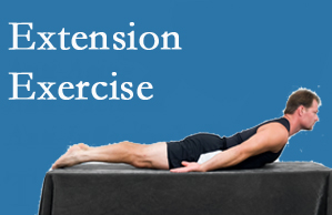 Layden Chiropractic recommends extensor strengthening exercises when back pain patients are ready for them.