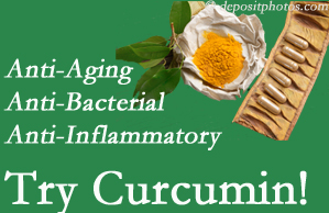 Pain-relieving curcumin may be a good addition to the Plainville chiropractic treatment plan.