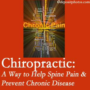 Layden Chiropractic helps relieve musculoskeletal pain which helps prevent chronic disease.